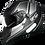 Thumbnail: Capacete GP Tech V128 Faster Titanium | Cinza