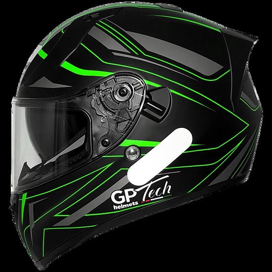 Capacete GP Tech V128 Ride | Verde