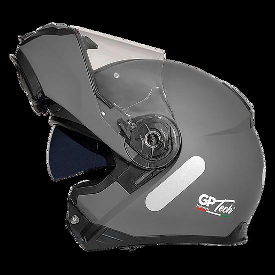 Capacete GP Tech A118 ROAD Monocolor | Titanium Fosco