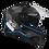 Thumbnail: Capacete GP Tech V128 - Velocity V2 Fosco | Preto-Azul