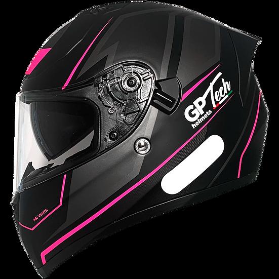 Capacete GP Tech V128 Faster | Rosa