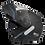 Thumbnail: Capacete GP Tech A118 ROAD | Preto e azul fosco