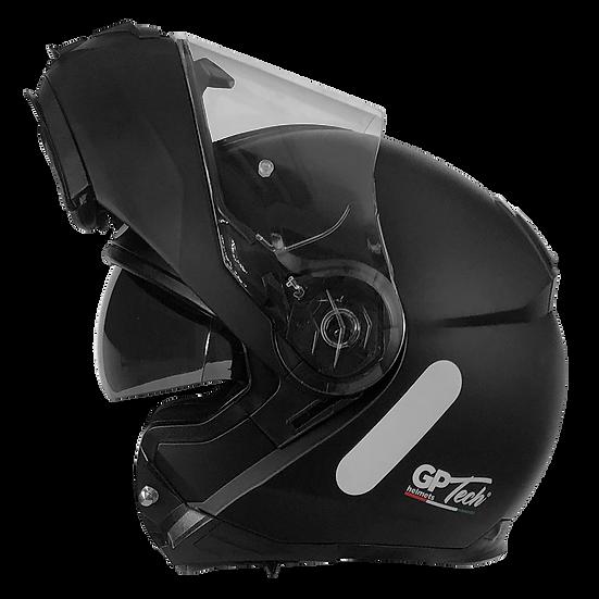 Capacete GP Tech A118 ROAD Monocolor | Preto Fosco