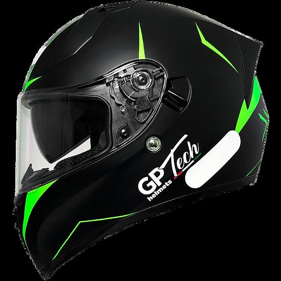 Capacete GP Tech V128 City | Verde