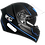Thumbnail: Capacete GP Tech V128 Faster | Azul