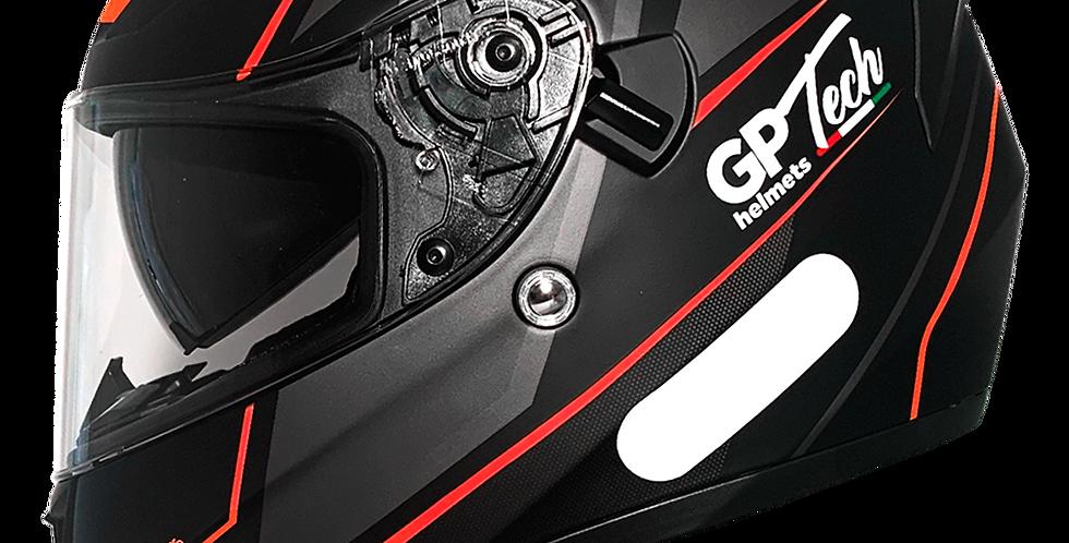 Capacete GP Tech V128 Faster | Vermelho