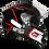 Thumbnail: Capacete GP Tech V128 Rapid Brilhante | Preto com Cinza