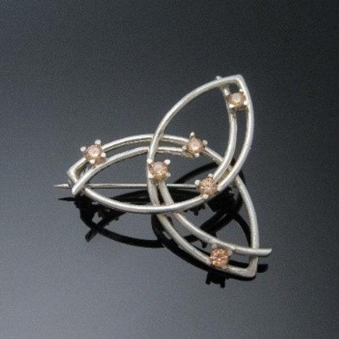 Celtic Trinity Knot Brooch