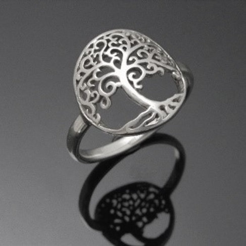 Handmade Tree of Life Ring