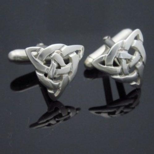 Handmade Infinity Knot Cufflinks