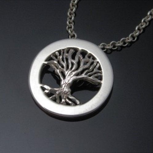 Personalized Handmade Tree of Life Pendant