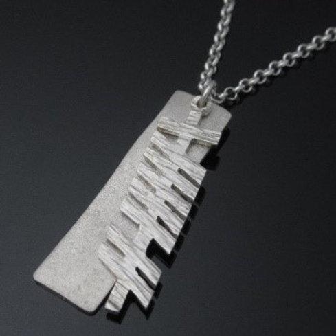 Personalized Handmade Ogham Pendant