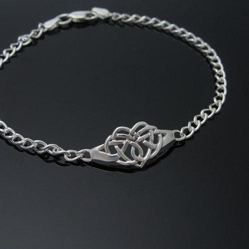 Claddagh Knot Bracelet