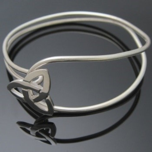Handmade Trinity Knot Bangle