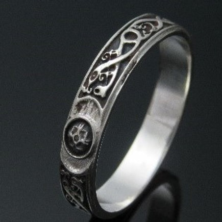 5mm Ardagh Ring - Darkened Background