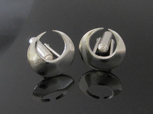 Handcrafted Lunula Cufflinks