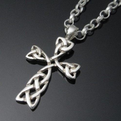Handmade Celtic Knot Cross Pendant