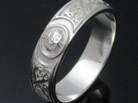 Polished Ardagh Wedding Ring