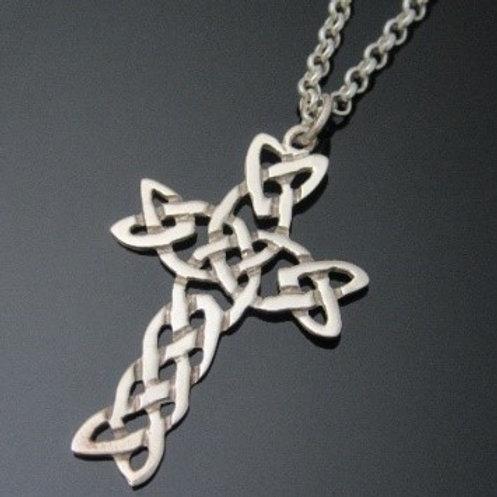 Large Celtic Knot Cross