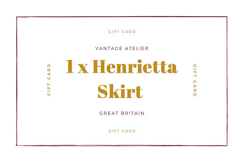 Gift Card for a Henrietta Skirt