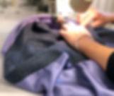 Hand made tweed skirt