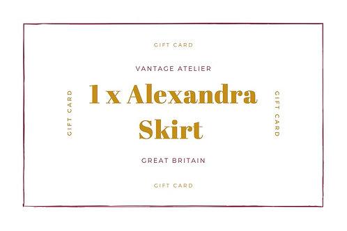 Gift Card for an Alexandra Skirt