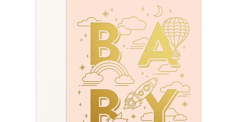 Fox & Fallow - Baby Universe Greeting Card