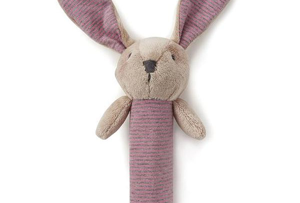 Nany Huchy - Bunny Rattle Pink