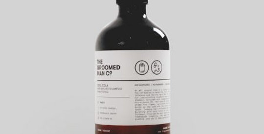 The Groomed Man Co - Cool Cola Hair & Beard Shampoo