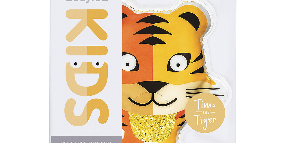 BodyICE Timo The Tiger - Kids Ice or Heat Packs