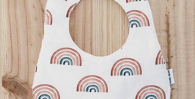 Mabel Bear - Cherish Rainbows Premium Super Absorbent Bib