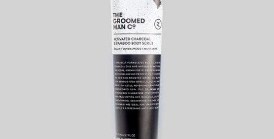 The Groomed Man Co - Charcoal & Bamboo Body Scrub