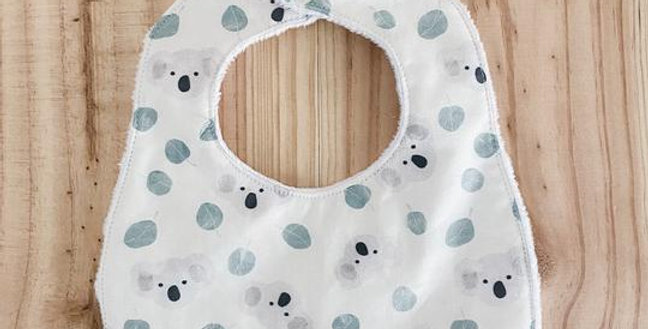 Mabel Bear - Cherish Koalas Premium Super Absorbent Bib