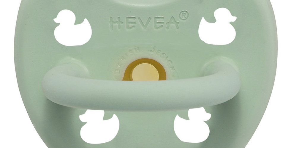 Hevea - Mellow Mint Pacifier - Orthodontic / Size 0 to 3 months