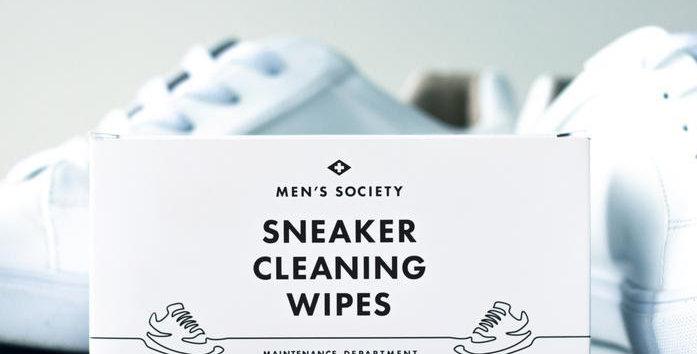Men's Society - Sneaker Wipes (Box of 15 Wipes)