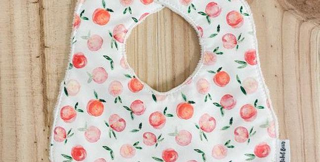Mabel Bear - Cherish Peachy Premium Super Absorbent Bib