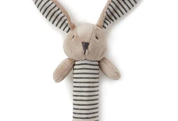 Nana Huchy - Bunny Rattle Grey