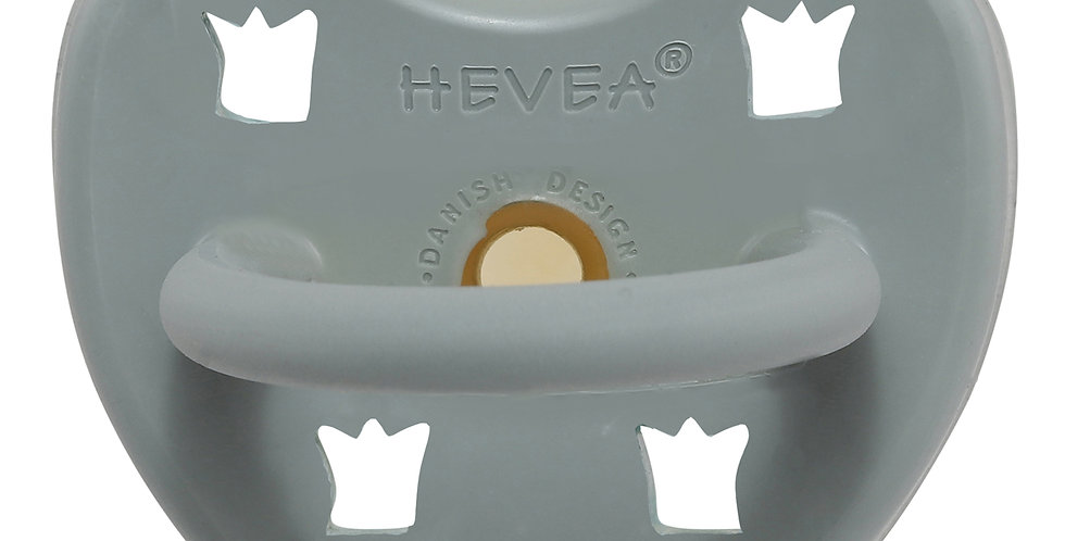 Hevea – Gorgeous Grey Pacifier - Orthodontic / Size 3 to 36 months