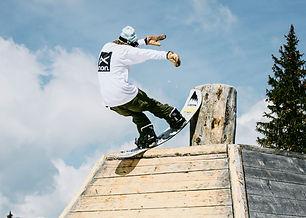 Burton Snowboard Freestyle Camp