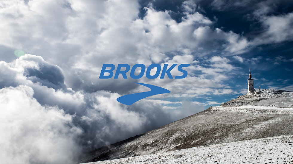 Trail Ventoux avec Brooks