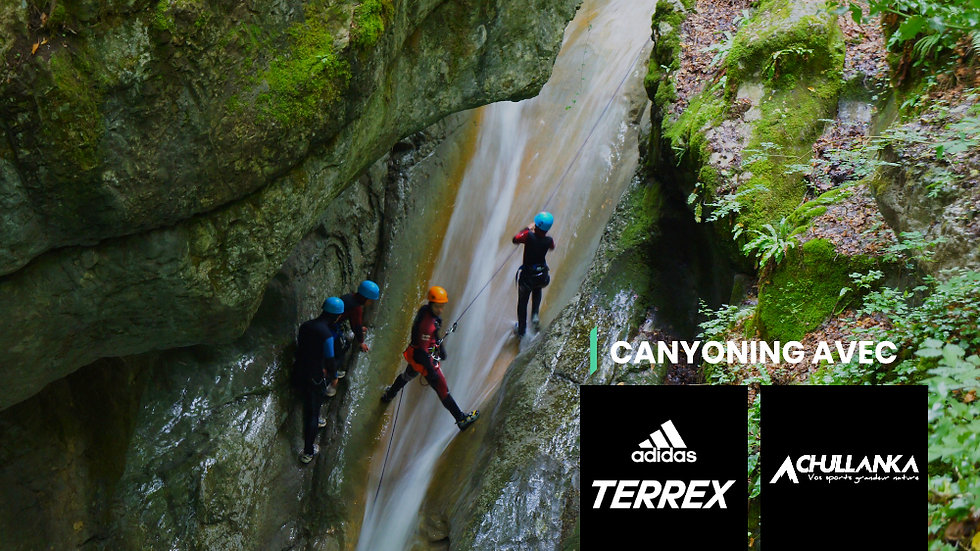 Canyoning TERREX & CHULLANKA