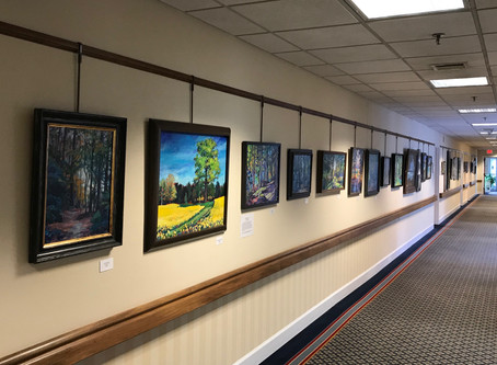 Solo Show at Rapphannock Westminster-Canterbury