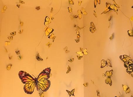 """Butterfly Bloom"" Installation"