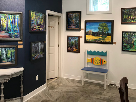 Showing at the Morning Glory Gallery in Gloucester, Virginia