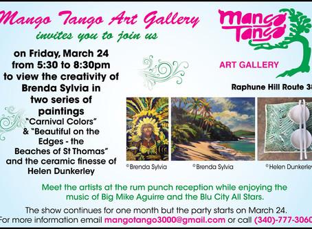 My Mango Tango Art Gallery Show               3/24/17
