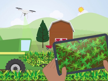Empowering Agritech via Big Data Analytics on Supercomputers