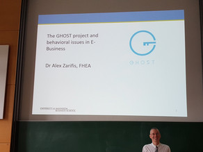 Presentation of the GHOST project to master students