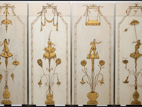 The Conservation of Florine Stettheimer's Four Panel Screen for the New MoMA