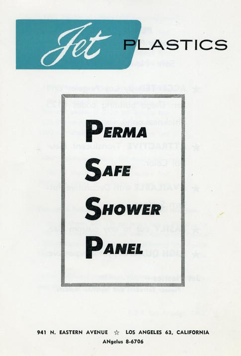 Jet Plastics Shower Panel Cover