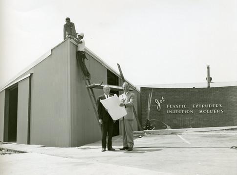 Founder Lloyd Johnson (right)
